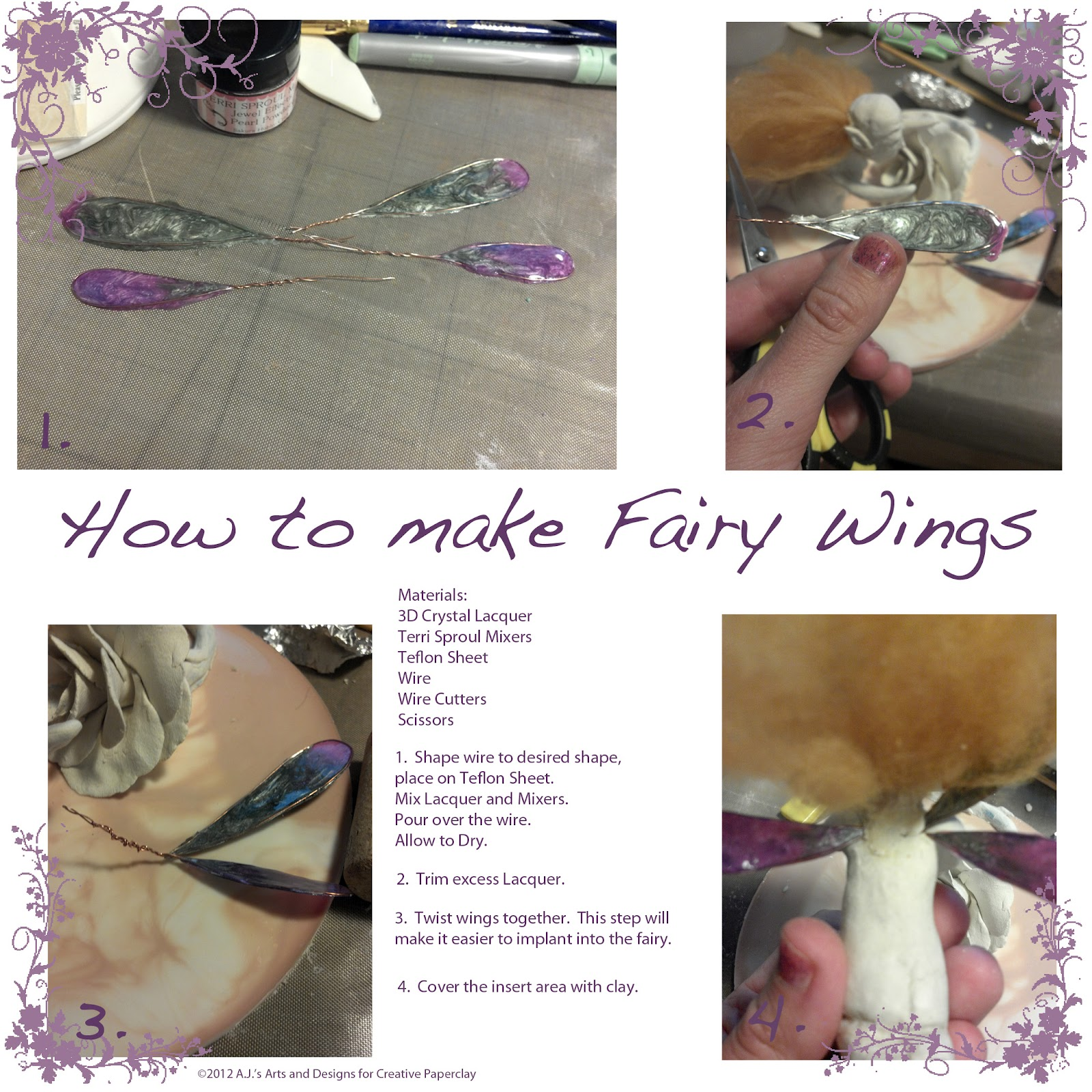 Creative Paperclay® air dry modeling material: Rose Fairy
