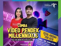 [Gratis] Lomba Video Pendek Nasional 2019 di Kementrian, Hadih 200 Jt