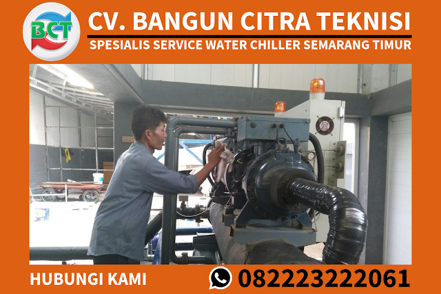 Jasa Service Water Chiller Semarang Timur Murah