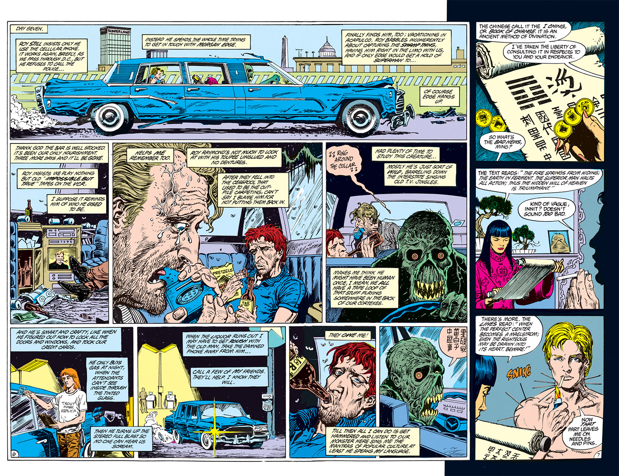 Swamp Thing (1982) Issue #72 #80 - English 5