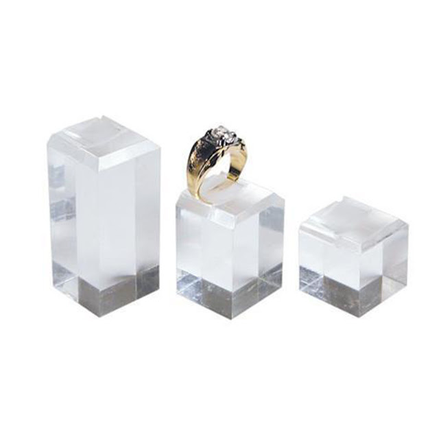 Shop Wholesale Acrylic Ring Stand Display Sets at Nile Corp