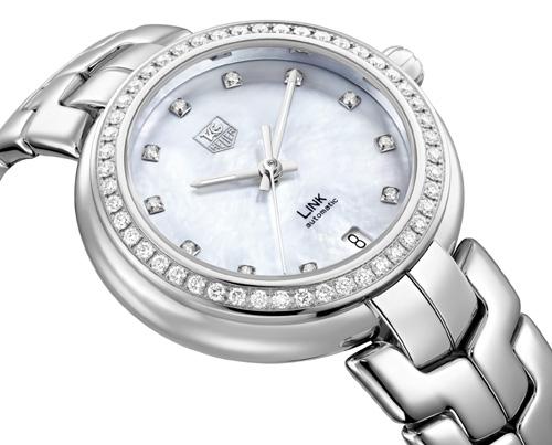 Ladies Tag Heuer Formula  Quartz Watch Diamonds