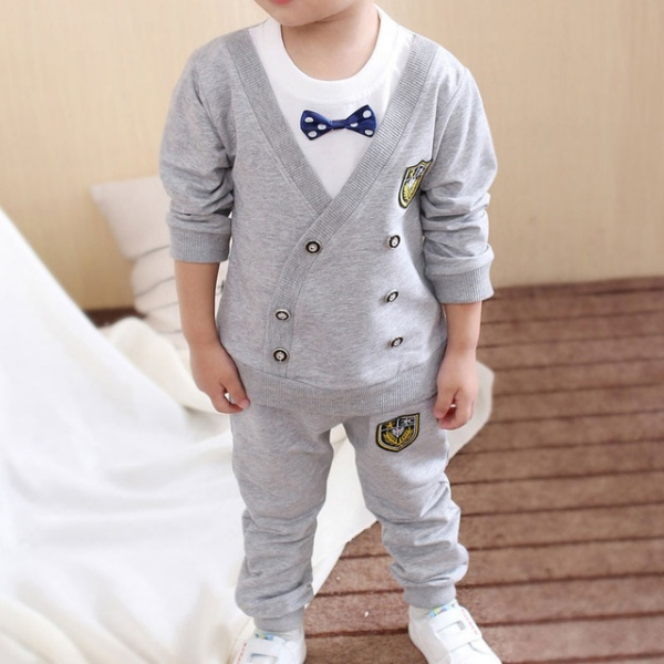 Boy Clothes Set Children Clothing Sets Sweater fabric Kids Clothes