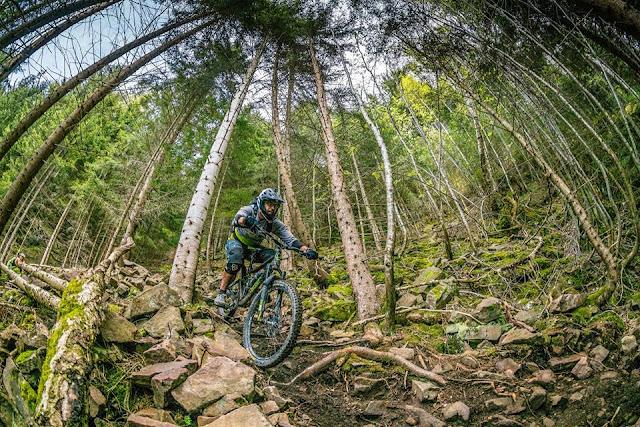 Wunderschöne Trails für Biker in Bozen