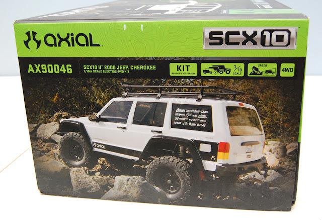 Axial SCX10 II Box