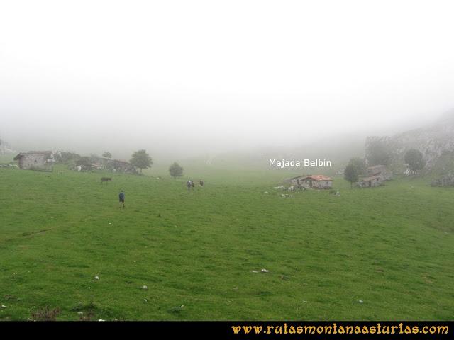 Ruta Ercina, Jultayu, Cuvicente: Majada de Belbín