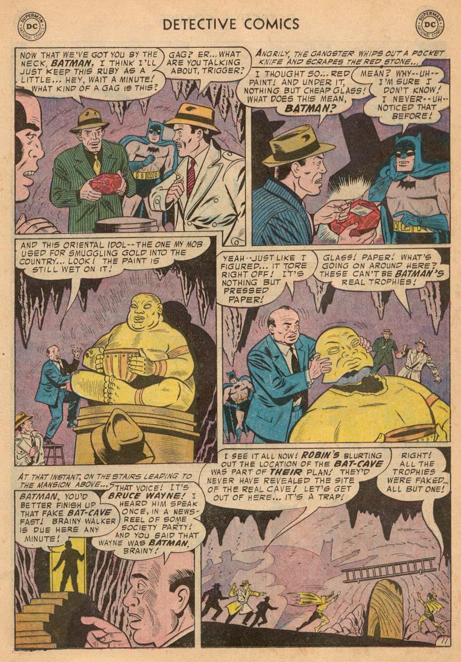 Read online Detective Comics (1937) comic -  Issue #242 - 13
