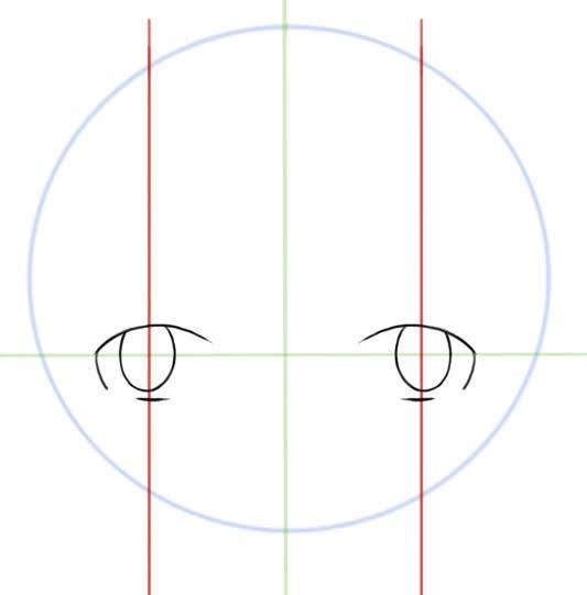 centrer et dessiner les pupilles