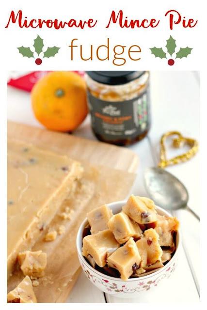 Microwave Mince Pie Fudge