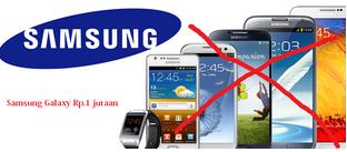 Harga HP Samsung Galaxy 1 jutaan terbaru 2015