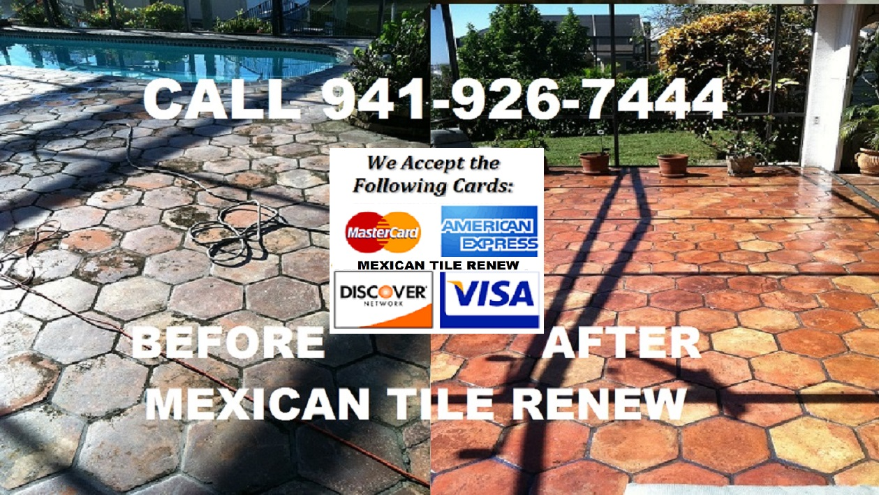 Mexican tile renew sarasota fl cleaning sealing mexican tile renew fort myers to sarasota to st pete to panama city fl better call vel 941 926 7444 email vel mexicantilerenewaol dailygadgetfo Image collections