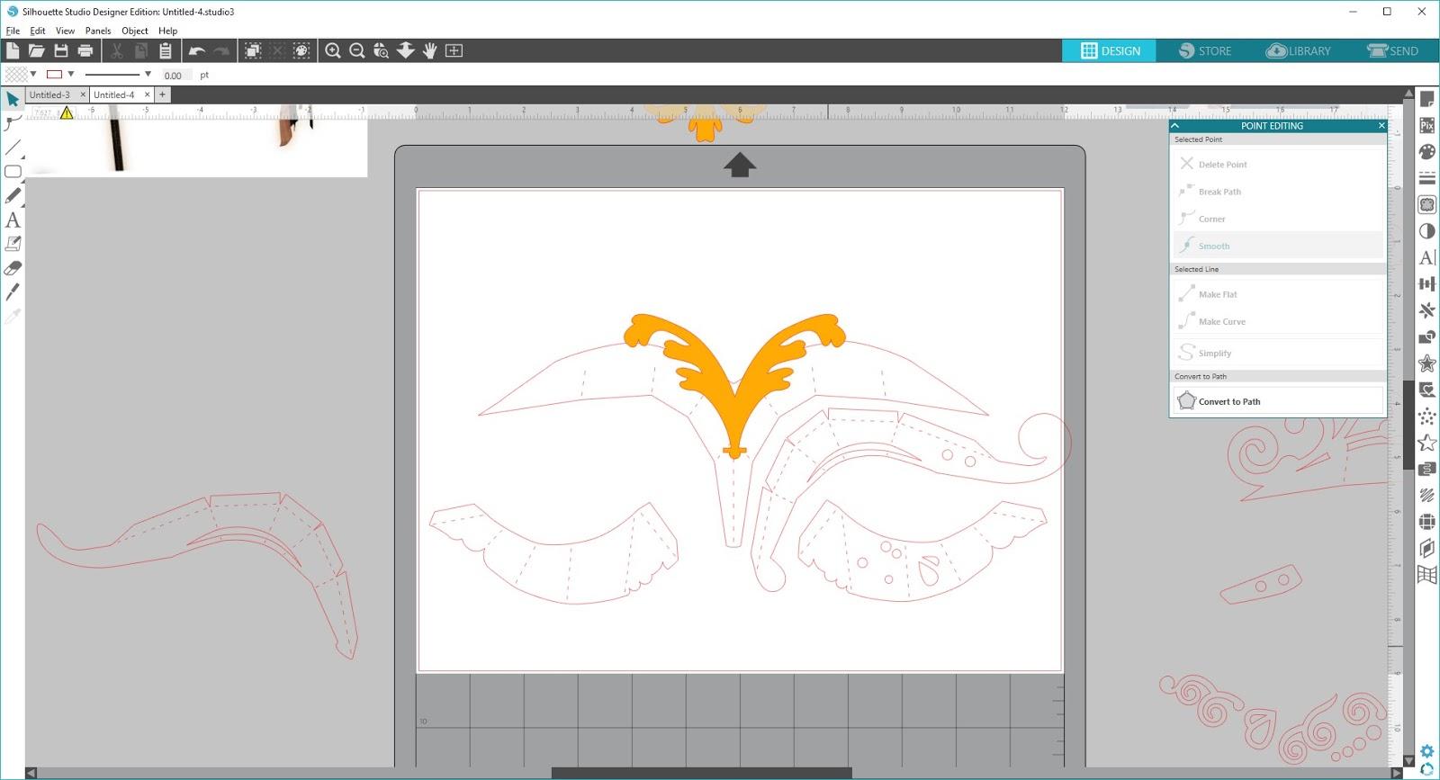 Silhouette Studio Designer Edition Stray Cuts