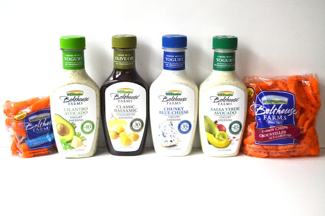 Bolthouse Farms Dressings and Carrots