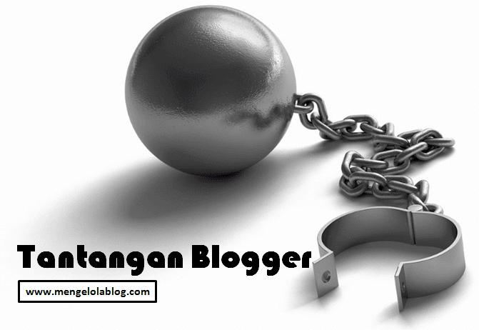 Tantangan seorang blogger