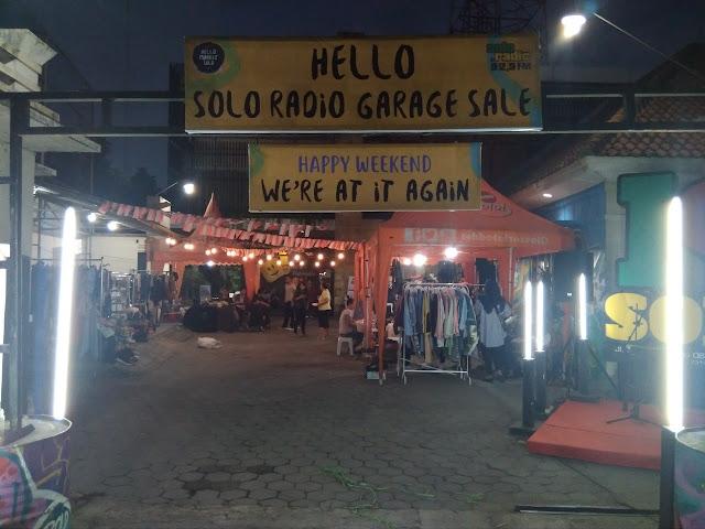 Berburu Fashion di Hello Solo Radio Garage Sale
