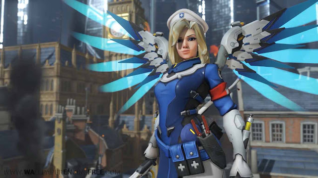Mercy - Overwatch Uprising Wallpaper Engine