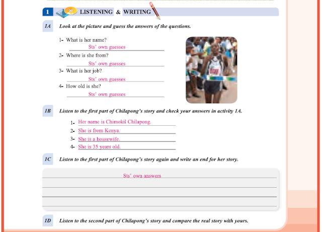 9. Sınıf Yıldırım Yayınları İngilizce A1.2 Ders Kitabı 59. Sayfa Cevapları Theme 4 Sports