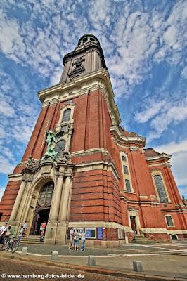 Eingang Sankt Michaelis Kirche Hamburg, Michel Hamburg