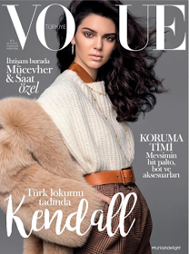 Incredible Kendall Jenner covers Vogue Turkey