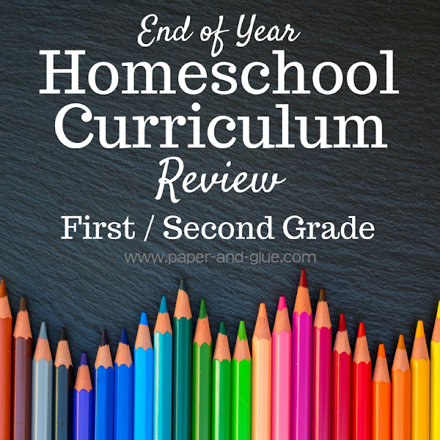 A review of the curriculum we used for our second year of homeschooling, a combined first and second grade year. Suitable choices for gifted education.