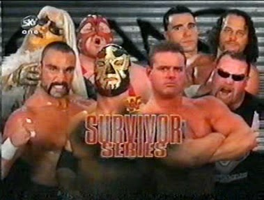 WWF / WWE - Survivor Series 1997 - Team Canada vs. Team USA