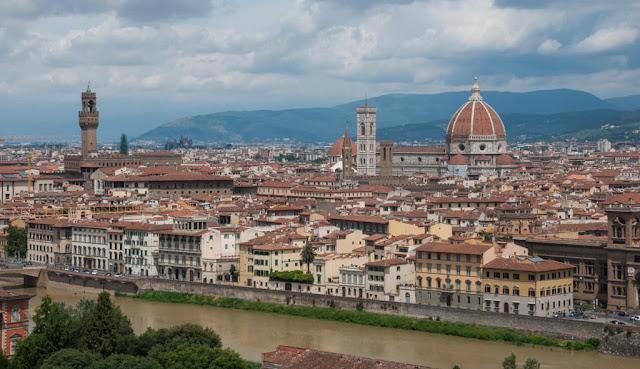 Florencia desde el aire
