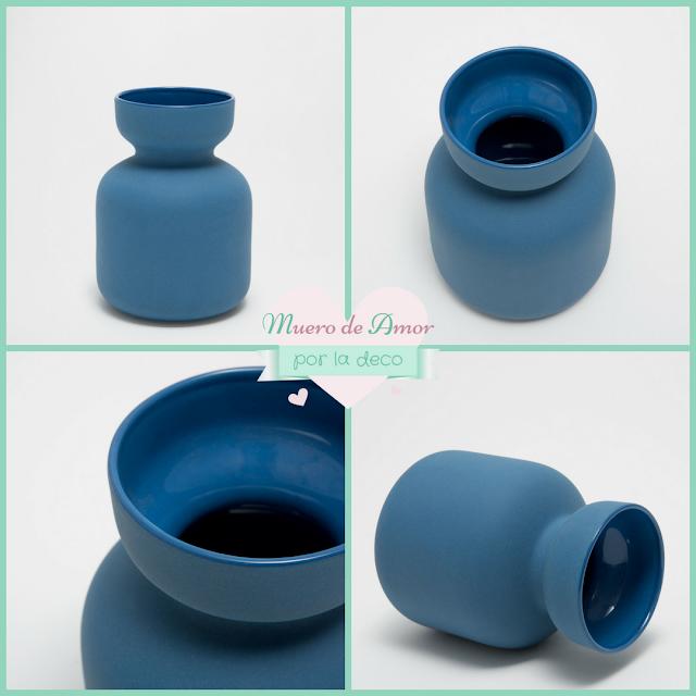 Jarrones Azules para Decorar tu Casa-Zara Home-By Ana Oval-6