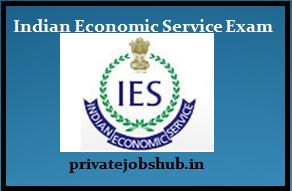Indian Economic Service Exam