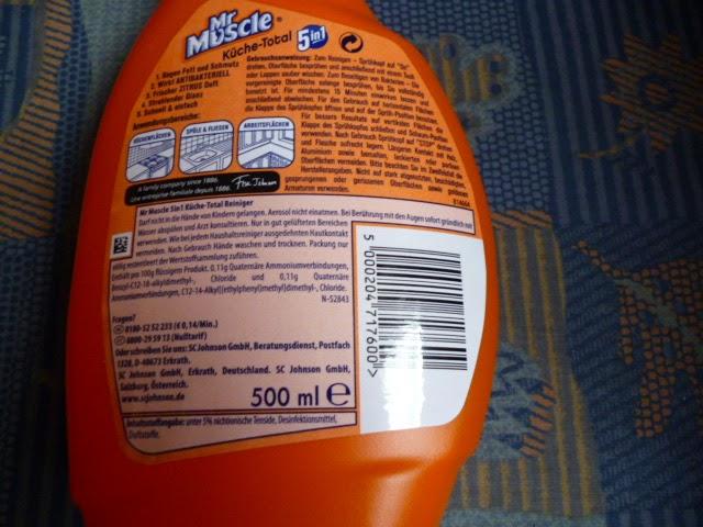 Moni S Blog Mr Muscle Bad Und Kuchen Reiniger Im Test