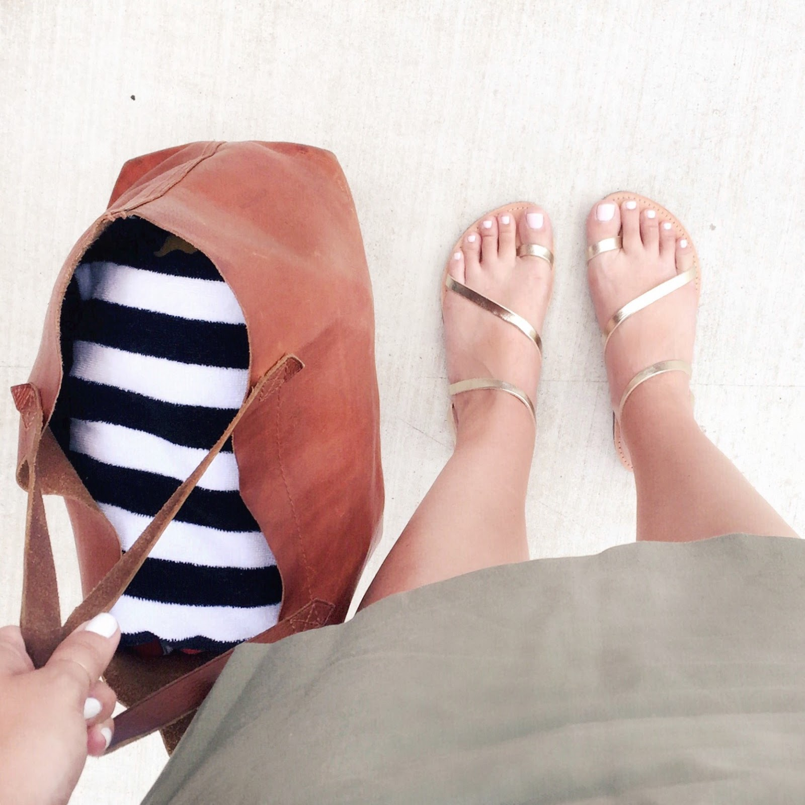 gold greek sandals