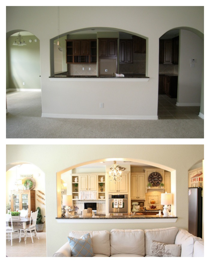 Chalk Painted Kitchen Cabinets 2 Years Later: From My Front Porch To Yours: Annie Sloan Chalk Painted