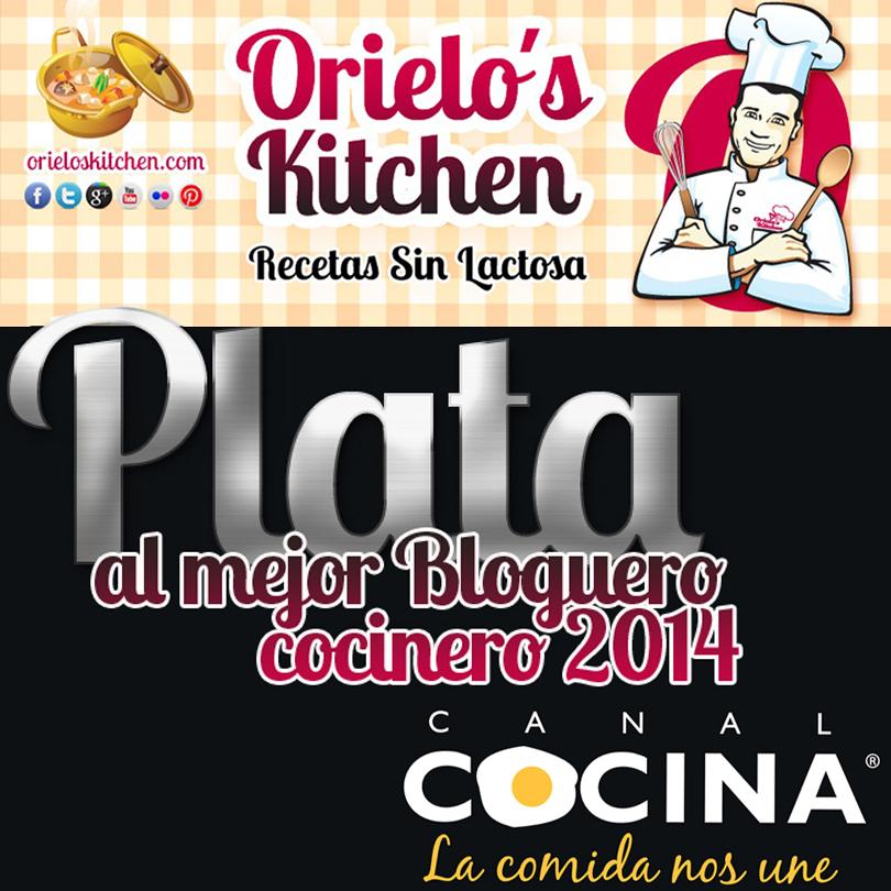 Orielo's Kitchen. Premios Canal Cocina. Mejor blog de cocina