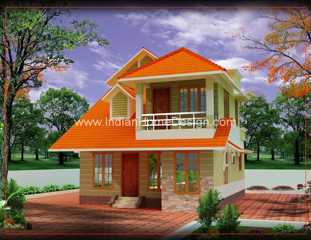 Kerala small house architecture