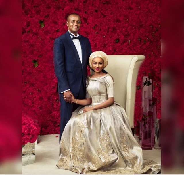 Aisha Buhari shares first Zahra's pre-wedding photo, asks for prayers (photo)