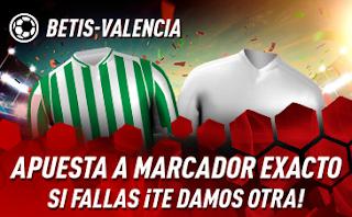 sportium promo copa Betis vs Valencia 7 febrero