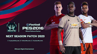 NEXT SEASON PES 2016 PATCH 2020