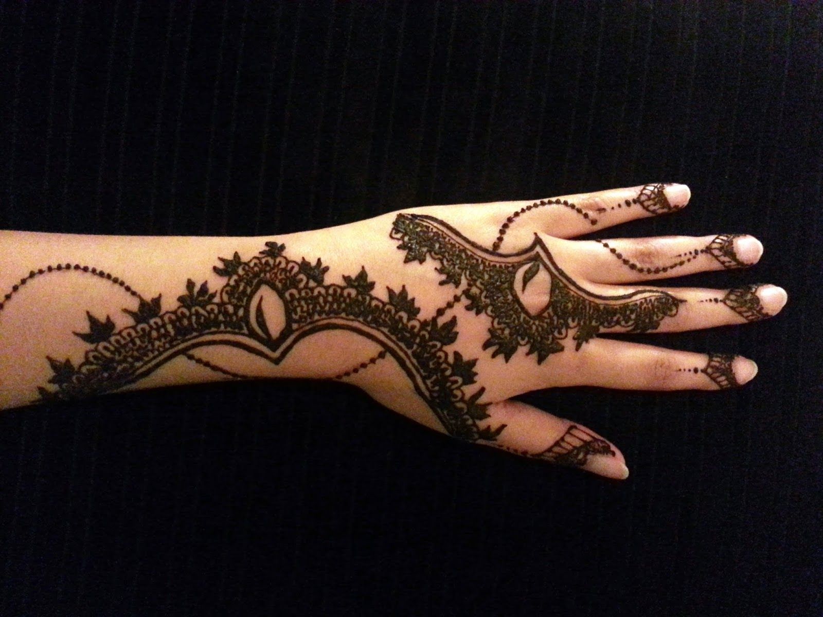 10 Finest Arabic Mehndi Designs For Hands And Palm 2017
