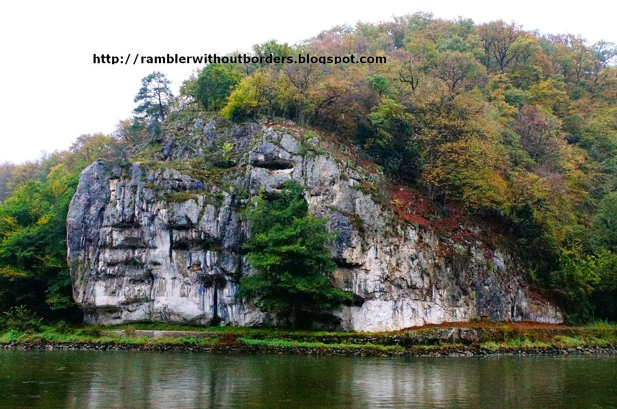 """Beehive"" rock formation, Danube Gorge, Germany"