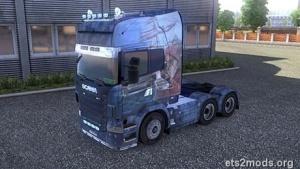 New Scania Skin by Damir260
