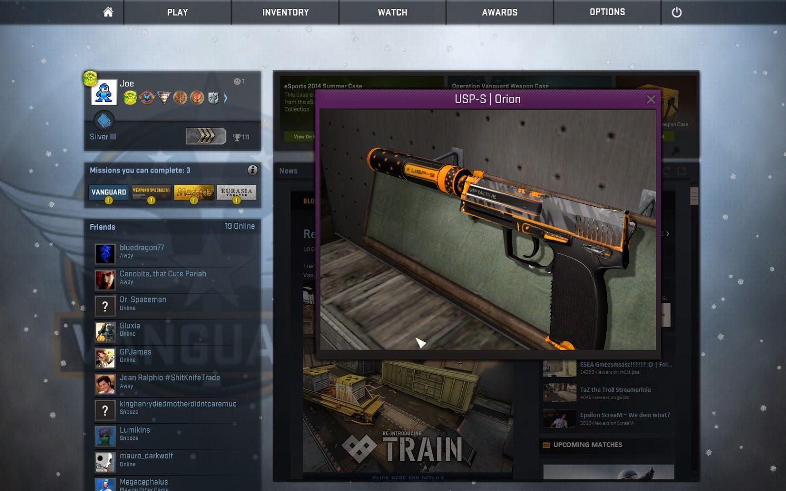 GoodPointJoe Top 20 Skins 20120 20   P20, USP S, Glock 20