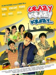 tiga berandalan dari negara yang berbeda berkumpul di Jakarta Download Film Krazy Crazy Krezy... (2009) DVDRip