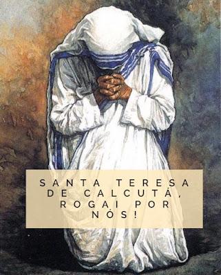 Resultado de imagem para santa madre teresa.