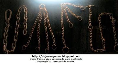 Fotos a las cadenas de tortura de la Inquisición, foto tomada por Jesus Gómez