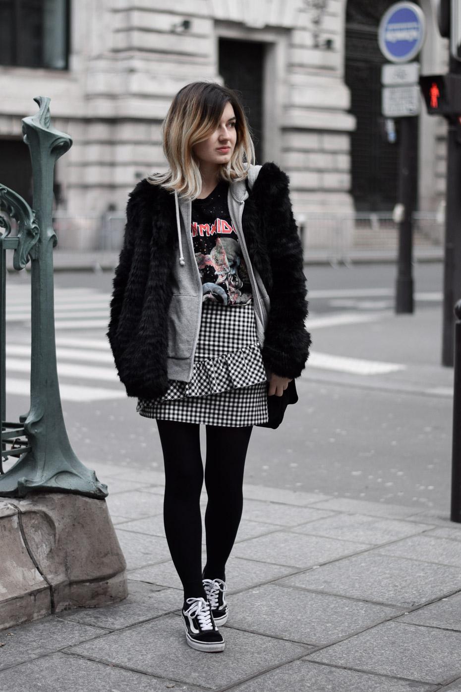 blogueuse lyonnaise outfit winter look vans old skool