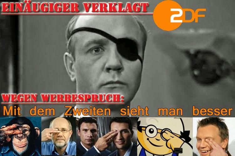 ZDF lustig - Mit dem Zweiten sieht man besser - satire