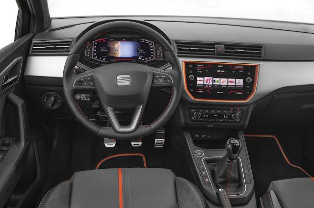 Seat Ibiza 2019 - interior - Cockpit Digital