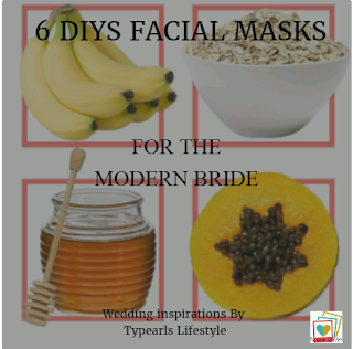 Organic facial masks to achieve a perfect glowing skin  on your wedding day