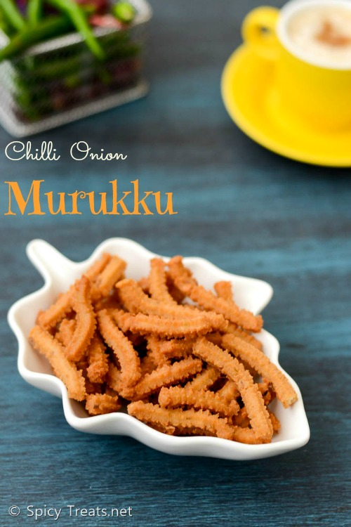 Chilli Onion Murukku