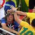 Brasileiros e sérvios brigam nas arquibancadas após jogo: FOTOS