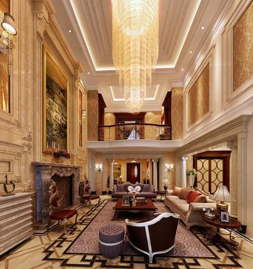 konsep desain interior rumah bergaya klasik